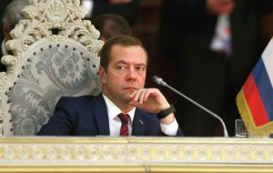 Medvedev examined tax data center in the Nizhny Novgorod region