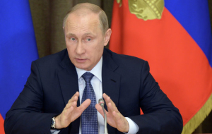 President Putin's press conference will be held in the world trade Center