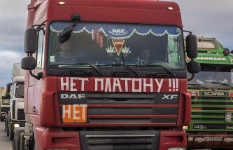 The state Duma reduces the penalties for heavy vehicles for travel on Federal highways without paying
