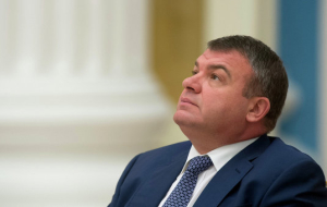 "Serdyukov has served on the Board of Directors of ""Russian Helicopters"""
