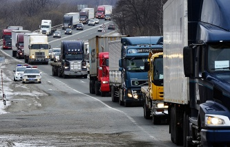 """Rosavtodor: the first month of the work """"Plato"""" road Fund increased by 1.5 billion rubles"""