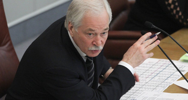 Gryzlov was appointed Plenipotentiary of the Russian Federation in the contact group on Ukraine