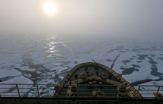 The volume of freight traffic along the Northern sea route has increased in 2015 to 1.2 million tons