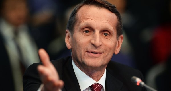 Naryshkin: Russia from Europe come honest and open policy