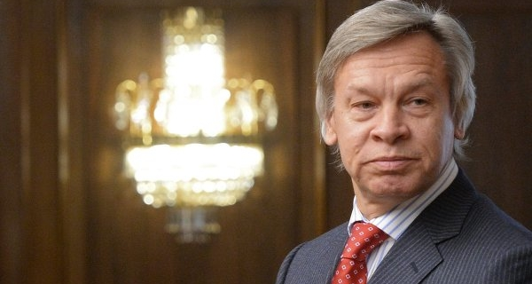Pushkov advised Merkel to impose sanctions against Ukraine