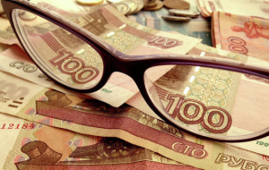 In the morning the ruble was down 9 cents to the dollar and 13 cents to the Euro