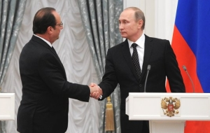 Putin noted the constructive development of relations between Russia and France