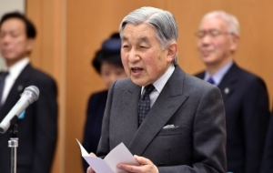 Putin has congratulated Emperor Akihito of Japan a happy birthday