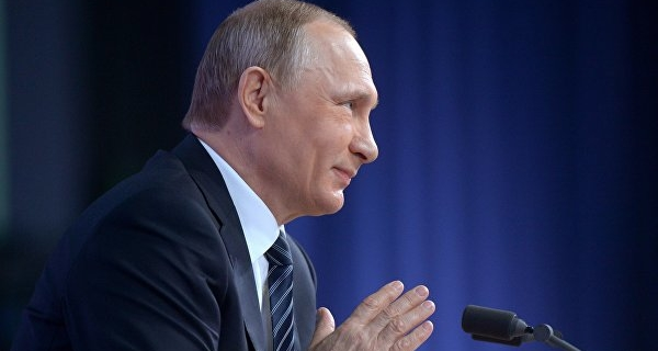 Putin welcomed the announcement of trump's readiness for dialogue with Russia