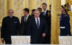 Putin says the proximity of Moscow and new Delhi on acute international problems