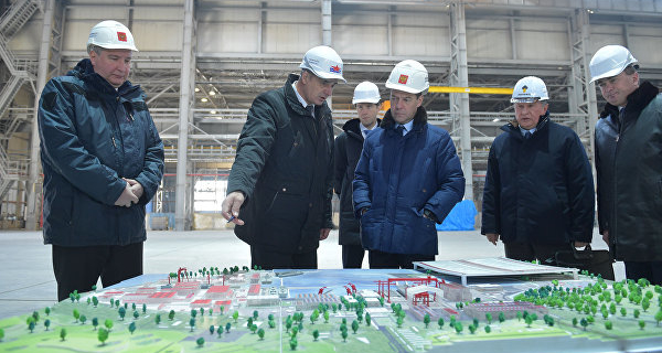 Medvedev proposed to create a TORUS in a Large Stone