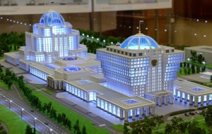 Matvienko: the parliamentary center will be built on private money