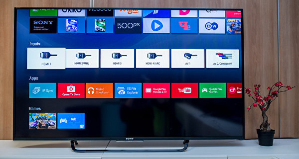 """Android TV™: testing a """"smart"""" TV from Sony"""