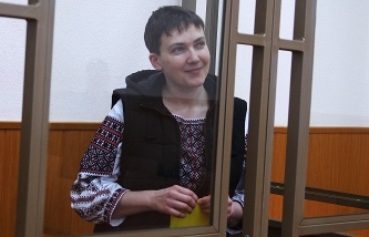The Donetsk court extended the arrest of Hope Savchenko until April 16, 2016