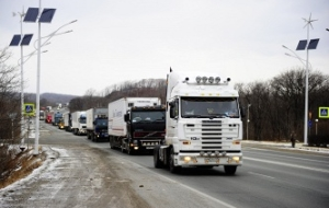 Lithuania introduced for Russian heavy vehicles fee for using roads