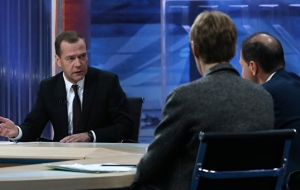 Medvedev: not communicating with other countries Russia is not exactly safe