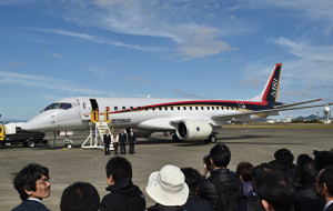 Delivery Japanese jet liner MRJ will begin no earlier than 2018