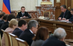 Medvedev: the government will work on holidays if need be