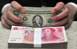 The Central Bank of China lowered the Renminbi to a minimum since may 2011