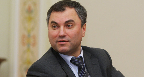 Volodin: the EP may be the only liberal party in the elections