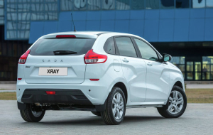 AvtoVAZ started serial production of Lada Xray