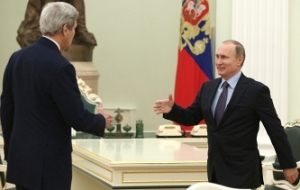 Putin's conversation with Lavrov and Kerry behind closed doors lasted more than three hours