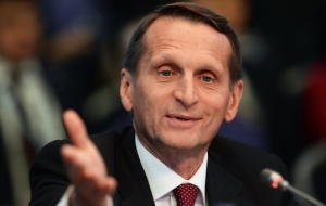 Naryshkin urged not to respond to negative arguments about elections
