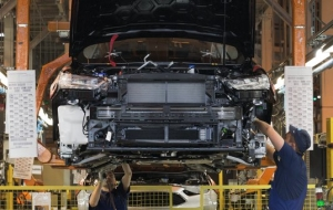 The Ford Sollers plant in the Leningrad oblast resumed production