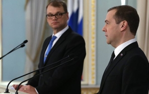 "Medvedev: Russia and Finland will continue work on the ""Nord stream-2"""