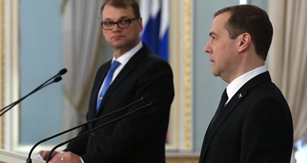 """Medvedev: Russia and Finland will continue work on the """"Nord stream-2"""""""