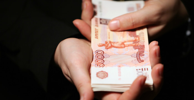 The Russians started to spend savings on everyday expenses