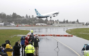 Boeing 737-MAX has performed a successful test flight