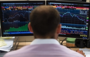 The Russian stock market opened lower by 0.8 to 2.1%
