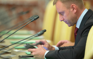 DG did not consider the draft resolution on the resignation of Livanov