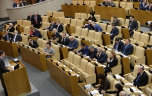 The state Duma will consider the bill on TV debates January 22,