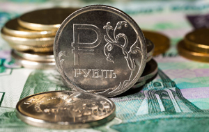 During the day the rouble grows to dollar and decrease to Euro