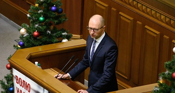 Yatsenyuk signed a decree on the rate of import duty on goods from the Russian Federation