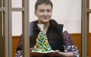 Lawyer: doctors put on a drip starving Savchenko so she could attend court