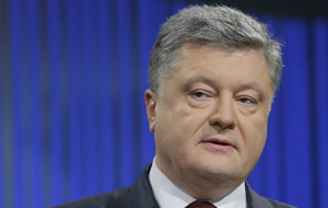 Poroshenko said he wants to return the Crimea to Ukraine legal way