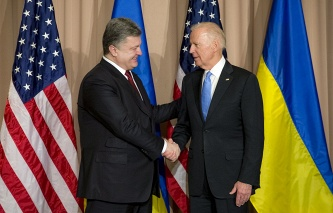 Poroshenko and heads of financial agencies of Ukraine held a meeting with the Director of the IMF in Davos