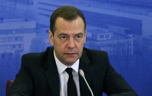 Medvedev in St. Petersburg will meet with the Prime Ministers of Finland and Belarus