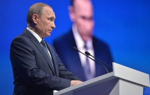"Putin: Russia will fight terrorism ""gently but strongly"""
