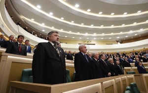 The Federation Council will consider the approximately 120 priority bills