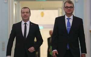 Medvedev: sanctions have not affected major joint projects of Russia and Finland