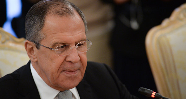 Lavrov started his visit to Turkmenistan with the opening of the complex of the Russian Embassy