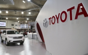 Toyota for the fourth year in a row became the world leader in car sales