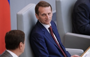 "Naryshkin expects ""heated discussion"" in the state Duma in a new wording of the administrative code"