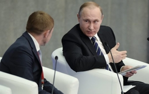 Putin: the authorities will continue to support small and medium business