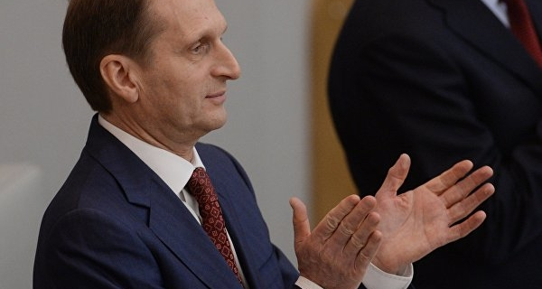 The economic situation is far from crisis of 1998, said Naryshkin