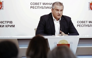 Aksenov promises to compensate the losses of the enterprises of the Crimea